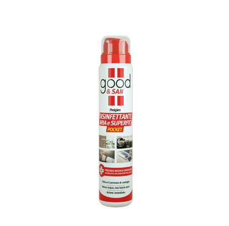 GOOD & SAN AIR AND SURFACE DISINFECTANT POCKET