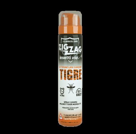 Zig Zag Insettivia! Repellente Spray Corpo Antipuntura contro la ZANZARA TIGRE