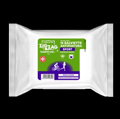 Zig Zag Insettivia! Repellente Sport Anti Bite wipes