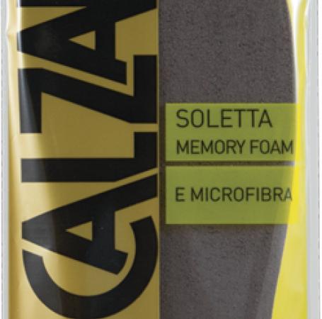 Calzanetto Memory Foam & Microfibra