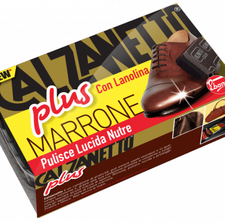 New Calzanetto Plus con Lanolina Marrone