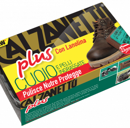 New Calzanetto Plus for impregnated leather and skins