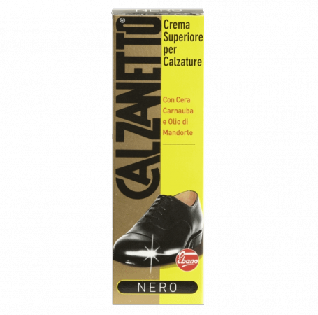Calzanetto Cream Black Tube