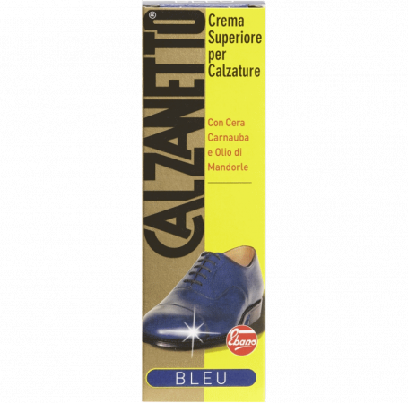 Calzanetto Cream Blue Tube