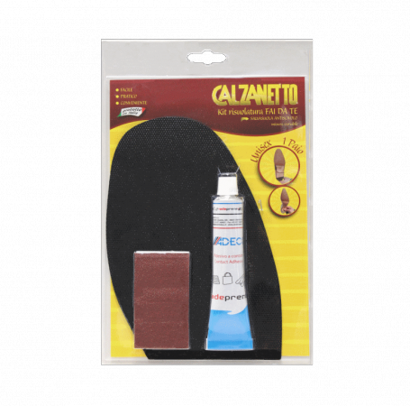 Calzanetto kit soling do it yourself