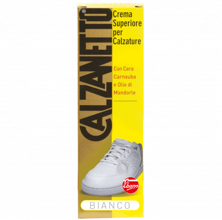 Calzanetto Cream White Tube