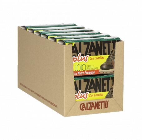New Calzanetto Plus Cuoio e Pelli Ingrassate Slitta Avana