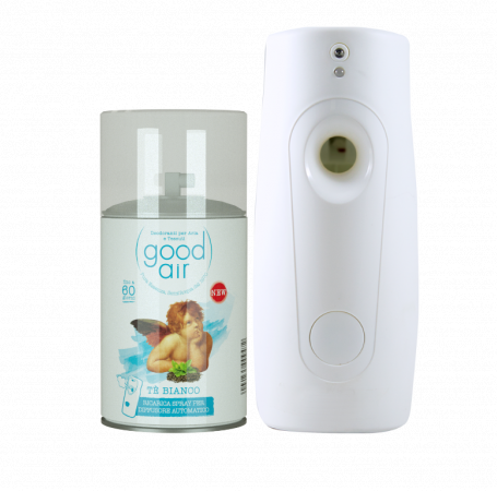 Good Air Dry per erogatore automatico al profumo di Tè bianco