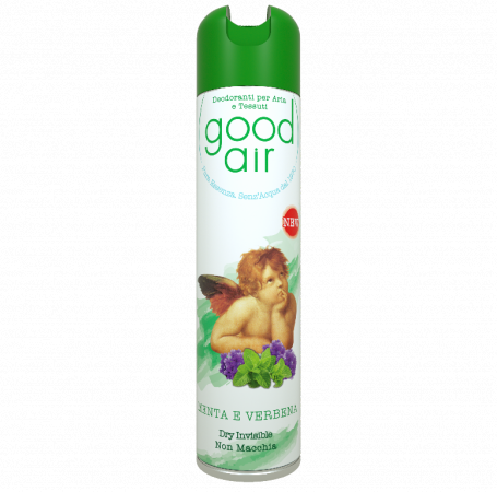 Good Air Dry al profumo di Menta e Verbena