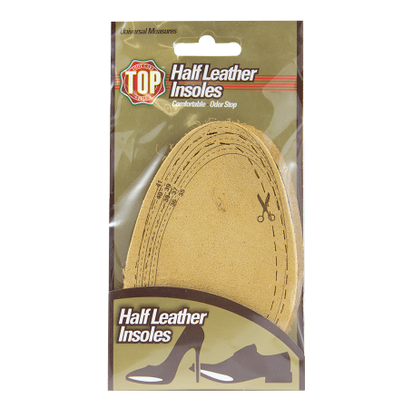 Top Half leather insoles