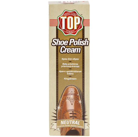 Top Shoe Polish Cream Neutral