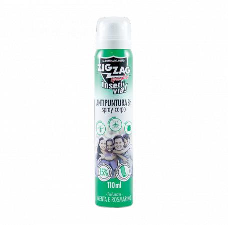 Zig Zag Insettivia Specialist Body Spray - Menta e Rosmarino