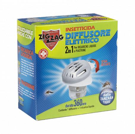 Zig Zag Elettroemanatore + Ricarica Liquida da 30 ml.