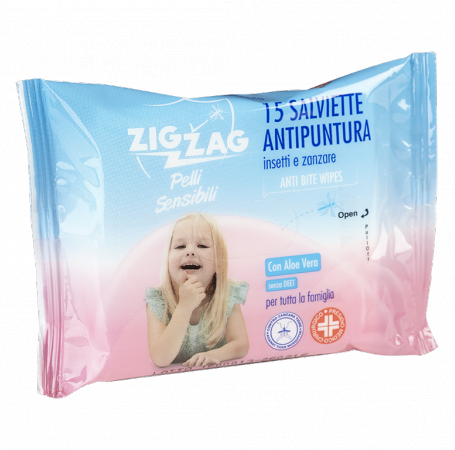 Zig Zag Wipes Anti puncture Sensitive Skin