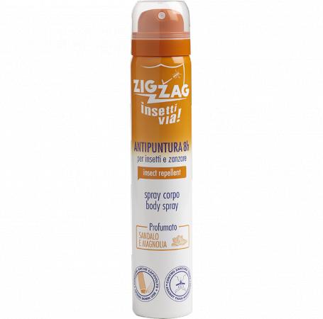 Zig Zag Insettivia! Spray Corpo Antipuntura Profumato - Sandalo e Magnolia