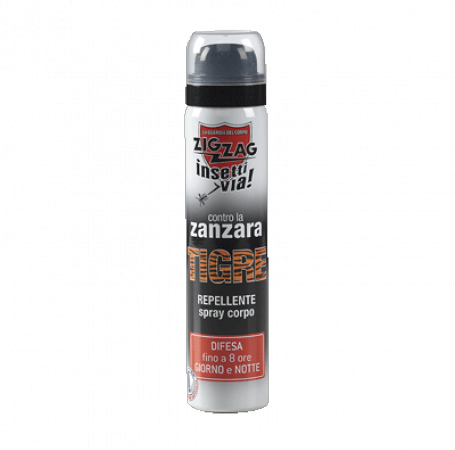 Zig Zag Insettivia! Antipuncture Body Spray against TIGER MOSQUITO