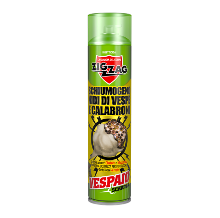 Zig Zag Insecticide Foaming Nests of Wasps and Hornets-ml.600-D.65