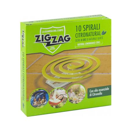 Zig Zag Spirals Citronatural
