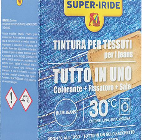 Super-Iride Colorante TUTTO IN UNO-BLUE JEANS