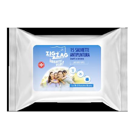 Zig Zag Insettivia! Repellente Salviette Antipuntura