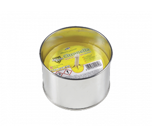 Zig Zag Citronella candle in a can
