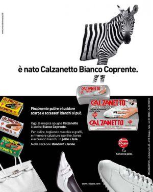 CALZANETTO BIANCO COPRENTE