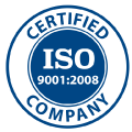 UNI EN ISO 9001:2008, the company meets the requirements of the ISO 9001:2008 standard