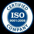 UNI EN ISO 9001:2008, l'azienda soddisfa i requisiti della norma ISO 9001:2008.
