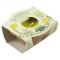 Zig Zag pot for outdoors with Citronella diameter 11 cm